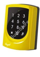 SOYAL AR-725K Mifare Kártyaolvasó és kódbillentyűzet hálózathoz vagy önálló vezérlőkhöz sárga