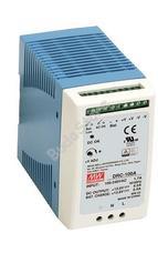 Mean Well DRC-100A Két kimenetes sínre pattintható tápegység és akkumulátortöltő DRC100A