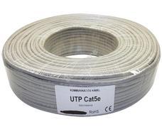 Tömör 4 x 2 x 0,5 UTP CAT.5 Solid Cable Strukturált hálózati kábel 100m