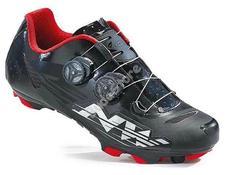 NORTHWAVE MTB BLAZE PLUS kerékpáros cipő 42,5-es fekete/fehér/piros 80172011-03-425