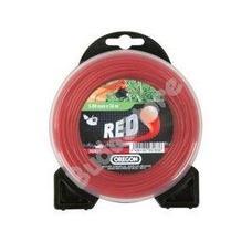 OREGON Damil2.7mmx65mkerek piros 552692