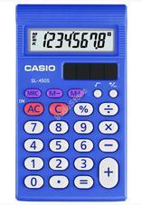 CASIO SL 450 S Zsebszámológép 45008688 SL450S