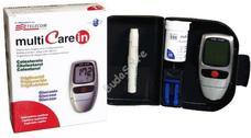 MULTICARE IN vércukor koleszterin triglicerid mérő csomag