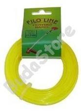FILO LINE fűnyíró damil 2.7mmx15m FIN027/A négyzet ALU
