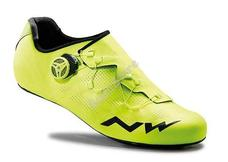 NORTHWAVE ROAD EXTREME RR kerékpáros cipő 42-es sárga fluo