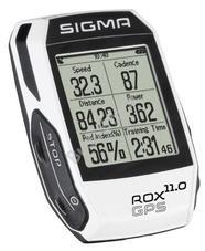 SIGMA ROX 11 GPS Computer komplett szett fehér