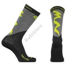 NORTHWAVE EXTREME PRO téli sportzokni S-es fluo sárga/fekete