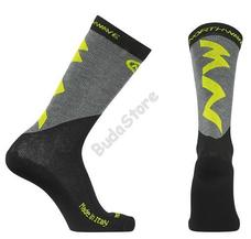 NORTHWAVE EXTREME PRO téli sportzokni L-es fluo sárga/fekete