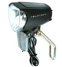 Velotech Első lámpa dinamós prizmával 34105