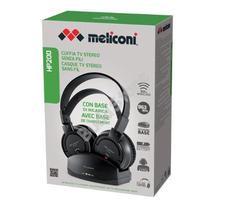 Meliconi HP 200 Vezeték nélküli fejhallgató töltő dokkolóval