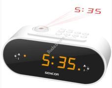 Sencor SRC 3100 W Rádió ébresztőóra projektoros SRC3100W