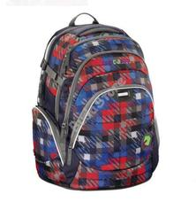 COOCAZOO hátizsák 129421 JOB JOBBER piros/kék kockás