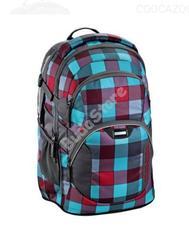 COOCAZOO hátizsák 129957 JOBJOBBER 2 kék/pink kockás