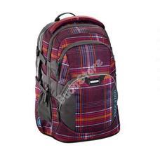 COOCAZOO hátizsák 129883 JOBJOBBER 2 bordó kockás