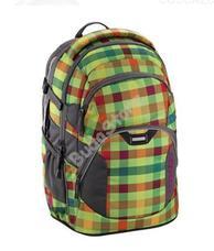 COOCAZOO hátizsák 129884 JOBJOBBER 2 zöld kockás