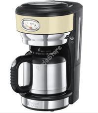 Russell Hobbs 21712-56 Retro krém termoszos kávéfőző