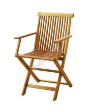 HECHT C003AGF Kerti szék fa 2 db