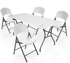 LIFETIME szett asztal és szék családi 183cm 3121583