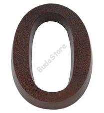 SB házszám alumínium 0 barna 11cm 3970040