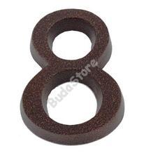 SB házszám alumínium 8 barna 11cm 3970048