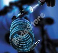BURG WACHTER 230 180 L számzáras biciklizár megvilágított számokkal