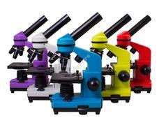 Levenhuk Rainbow 2L mikroszkóp Lime színben 70227
