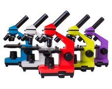 Levenhuk Rainbow 2L PLUS mikroszkóp Lime színben 70232