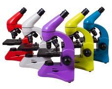 Levenhuk Rainbow 50L Plus mikroszkóp Ametiszt színben 70240