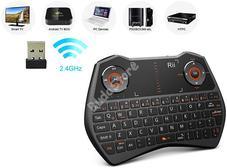 Rii mini i28C Multimédiás QWERTY billentyűzet és precíziós touchpad 115459