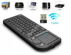 Rii X1 Multifunkciós mini QWERTY billentyűzet és precíziós touchpad 115451