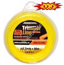 Trimmer line fűnyíró damil kerek 2.7mm 72m