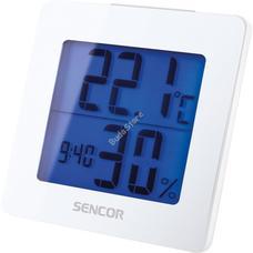 SENCOR SWS 1500 W Meteorológiai állomás ébresztőórával fehér SWS1500W