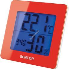 SENCOR SWS 1500 RD Meteorológiai állomás ébresztőórával piros SWS1500RD