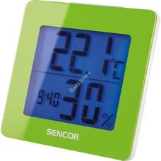 SENCOR SWS 1500 GN Meteorológiai állomás ébresztőórával zöld SWS1500GN