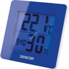 SENCOR SWS 1500 BU Meteorológiai állomás ébresztőórával kék SWS1500BU