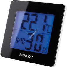 SENCOR SWS 1500 B Meteorológiai állomás ébresztőórával fekete SWS1500B