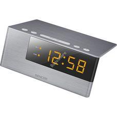 SENCOR SDC 4600 OR Digitális ébresztőóra narancs SDC4600OR