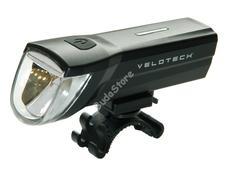 Velotech 1 CREE LED újratölthető első lámpa 34506
