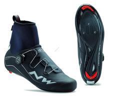 NORTHWAVE Cipő NW ROAD FLASH GTX 43 téli, fekete