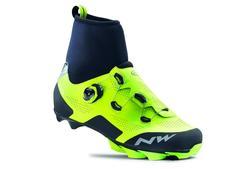 NORTHWAVE Cipő NW MTB RAPTOR GTX 45, fluo sárga