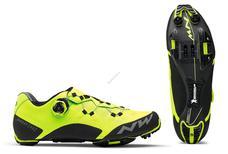 NORTHWAVE Cipő NW MTB GHOST XC 43 fekete/sárga fluo 80182040-04-43