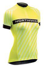 NORTHWAVE Mez NW LOGO3 WMN női rövid XS sárga fluo 89171127-40-XS