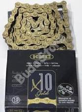 KMC biciklilánc X10 GOLD