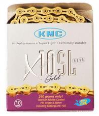 KMC biciklilánc X10 SL GOLD