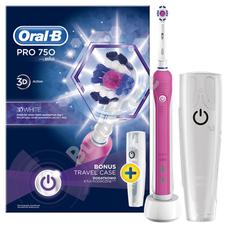 Oral-B PRO 750 3D White + úti tok 2016OND GYOB144
