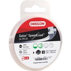 OREGON Damil 2.4mm GSL Gator Speedload 24-295-03