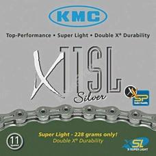 KMC biciklilánc X11 SL SILVER
