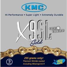 KMC biciklilánc X9 SL GOLD