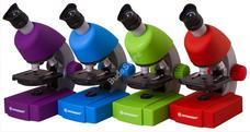 Bresser Junior 40x-640x mikroszkóp lila 70121