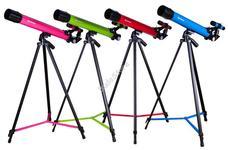 Bresser Junior Space Explorer 45/600 AZ teleszkóp rózsaszín 70133